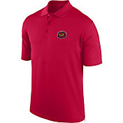 J. America Men's Temple Owls Cherry Spector Polo
