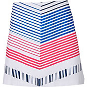 Lady Hagen Women's Bon Voyage Collection Chevron Golf Skort