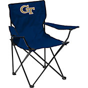 Georgia Tech Yellow Jackets Team-Colored Canvas Chair