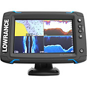 Lowrance Elite-7 Ti GPS Fish Finder with Mid/High/TotalScan (000-12419-001)