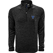 Levelwear Men's Villanova Wildcats Grey Armour Quarter-Zip Shirt