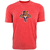 Levelwear Men's Florida Panthers Red Upper Echelon Logo T-Shirt