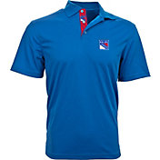 Levelwear Men's New York Rangers Royal Omaha Polo