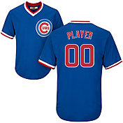 Majestic Men's Full Roster Cool Base Cooperstown Replica Chicago Cubs 1968-69 Royal Jersey