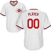 Majestic Men's Full Roster Cool Base Cooperstown Replica Cincinnati Reds 1978 White Jersey