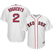 Majestic Men's Replica Boston Red Sox Xander Bogaerts #2 Cool Base Home White Jersey