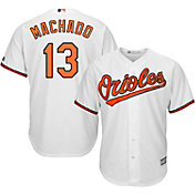 Majestic Boys' Replica Baltimore Orioles Manny Machado #13 Cool Base Home White Jersey