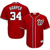 Youth Replica Washington Nationals Bryce Harper #34 Alternate Red Jersey