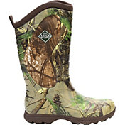 Muck Boots Men's Pursuit Stealth Cool Realtree APG Rubber Hunting Boots