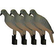 MOJO Outdoors Clip-On Dove Decoys – 4-pack