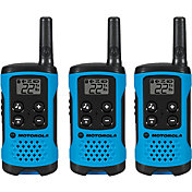 Motorola 16 Mile Talkabout T100 Two-Way Radio Pack – 3 Pack