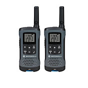 Motorola 20 Mile Talkabout T200 Two-Way Radio Pack – 2 Pack