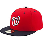 New Era Men's Washington Nationals 59Fifty Alternate 2 Red Authentic Hat