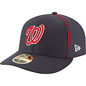 New Era Men's Washington Nationals 59Fifty Diamond Era Navy Low Crown Fitted Hat