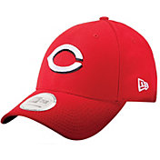 New Era Men's Cincinnati Reds Scarlet 9Forty Pinch Hitter Adjustable Hat