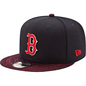 New Era Men's Boston Red Sox 9Fifty Visor Fresh Navy Adjustable Hat