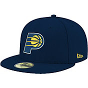 New Era Men's Indiana Pacers 59Fifty Navy Fitted Hat