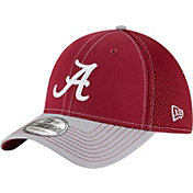 New Era Men's Alabama Crimson Tide Crimson/Grey Team Front Neo 39Thirty Hat