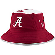 New Era Men's Alabama Crimson Tide Crimson Logo Topper Bucket Hat