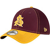 New Era Men's Arizona State Sun Devils Maroon/Gold Team Front Neo 39Thirty Stretch Fit Hat