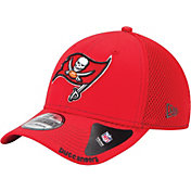 New Era Men's Tampa Bay Buccaneers 39Thirty Neo Red Flex Hat