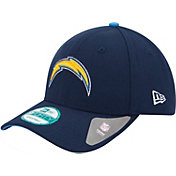 New Era Men's San Diego Chargers League 9Forty Adjustable Navy Hat
