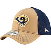 New Era Men's Los Angeles Rams Team Front Neo 39Thirty Flex Hat