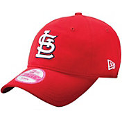 New Era Women's St. Louis Cardinals Red 9Forty Essential Adjustable Hat