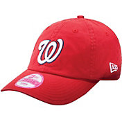 New Era Women's Washington Nationals 9Forty Essential Red Adjustable Hat