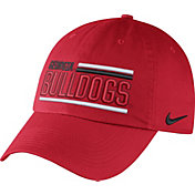 Nike Men's Georgia Bulldogs Red Heritage86 Adjustable Hat