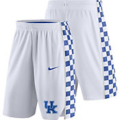 Nike Men's Kentucky Wildcats Replica Basketball White Shorts