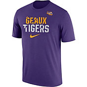 Nike Men's LSU Tigers Purple Ignite Verbiage Legend T-Shirt