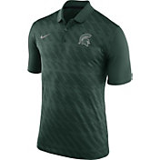 Nike Men's Michigan State Spartans Green Dry Stadium Polo
