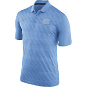 Nike Men's North Carolina Tar Heels Carolina Blue Dry Stadium Polo