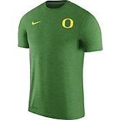 Nike Men's Oregon Ducks Apple Green Coach Football T-Shirt