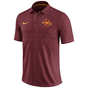 Nike Men's Iowa State Cyclones Cardinal Early Season Football Polo