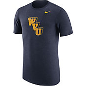 Nike Men's West Virginia Mountaineers Heathered Blue Vault Tri-Blend T-Shirt