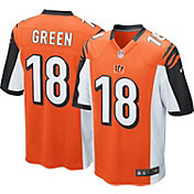Nike Men's Alternate Game Jersey Cincinnati Bengals A.J. Green #18