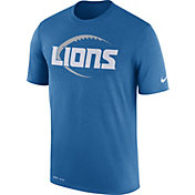 Nike Men's Detroit Lions Legend Icon Performance Blue T-Shirt