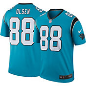 Nike Men's Color Rush Carolina Panthers Greg Olsen #88 Legend Jersey