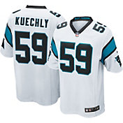 Nike Men's Away Game Jersey Carolina Panthers Luke Kuechly #59