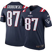 Nike Men's Color Rush 2016 New England Patriots Rob Gronkowski #87 Legend Game Jersey