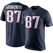 Nike Men's New England Patriots Rob Gronkowski #87 Pride Navy T-Shirt