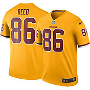 Nike Men's Color Rush Washington Redskins Jordan Reed #86 Legend Game Jersey