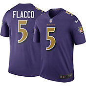 Nike Men's Color Rush 2016 Baltimore Ravens Joe Flacco #5 Legend Game Jersey