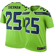 Nike Men's Color Rush 2016 Seattle Seahawks Richard Sherman #25 Legend Game Jersey