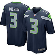Nike Men's Home Game Jersey Seattle Seahawks Russell Wilson #3