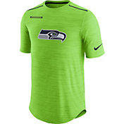 Nike Men's Seattle Seahawks Sideline 2017 Player Green Top