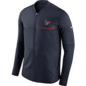 Nike Men's Houston Texans Sideline 2017 Shield Hybrid Navy Jacket