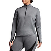 Nike Women's Pro HyperWarm Half Zip Shirt